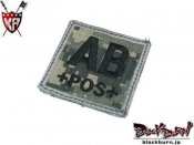 【KingArms】Cube Blood Type Patch - ACU - AB