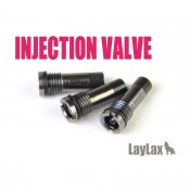 【LayLax/ライラクス】NINE BALL(ナインボール)インジェクションバルブ<注入バルブ>ブラック3本セット