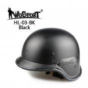 【GT】M88 PASGTタイプ フリッツヘルメット BK