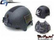 【GT】NAVY SEALS(ネイビーシールズ)IBHタイプヘルメット/BK
