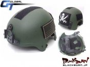 【GT】NAVY SEALS(ネイビーシールズ)IBHタイプヘルメット/OD