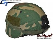 【GT】MICH2000タイプヘルメット/ウッドランド