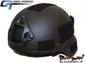【GT】MSA MICH2000タイプヘルメット/BK