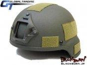 【GT】MSA MICH2000タイプヘルメット/OD