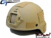 【GT】MSA MICH2000タイプヘルメット/TAN