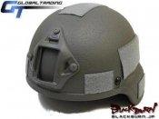 【GT】MSA MICH2000タイプヘルメット/FG