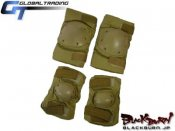 【GT】Heavy duty Elbow&Kneepad set CB