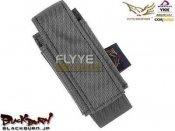 【FLYYE】Molle 40mm グレネード シェル ポーチ BK
