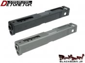 【Detonator】Glock18C カスタムスライド BK