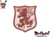 【KingArms】Seal Gold Team Lion-S Embroidery Patch - MD