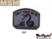 【MILL SPEC MONKEY】Dont Tread 刺繍(SWAT/ACU/FOREST/MC/DE)