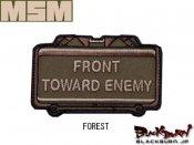 【MILL SPEC MONKEY】Front Toward Enemy 刺繍