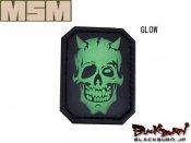 【MILL SPEC MONKEY】MM Devil Skull PVCタイプ(GLOW/DE/MC)
