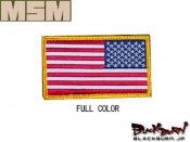 【MILL SPEC MONKEY】US Flag REV 刺繍(SWAT/ACU-LIGHT/ACU-DARK/FOREST/DE/MC)