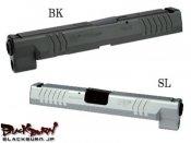 【DETONATOR】マルイXDM用XDM .45ACP スライドセット BK
