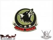 【LayLax】ミリタリーパッチ「一匹狼」