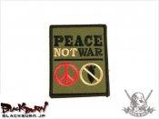 【LayLax】ミリタリーパッチ「PEACE」