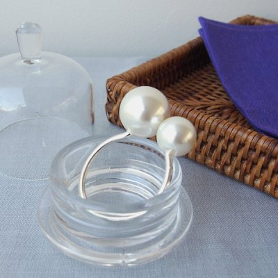 <img class='new_mark_img1' src='//img.shop-pro.jp/img/new/icons14.gif' style='border:none;display:inline;margin:0px;padding:0px;width:auto;' />PEARL NAPKIN RING (2個セット)