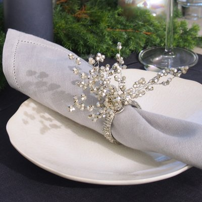 <img class='new_mark_img1' src='//img.shop-pro.jp/img/new/icons14.gif' style='border:none;display:inline;margin:0px;padding:0px;width:auto;' />SPARKLE BEADS SPRAY NAPKIN RING(2個セット)