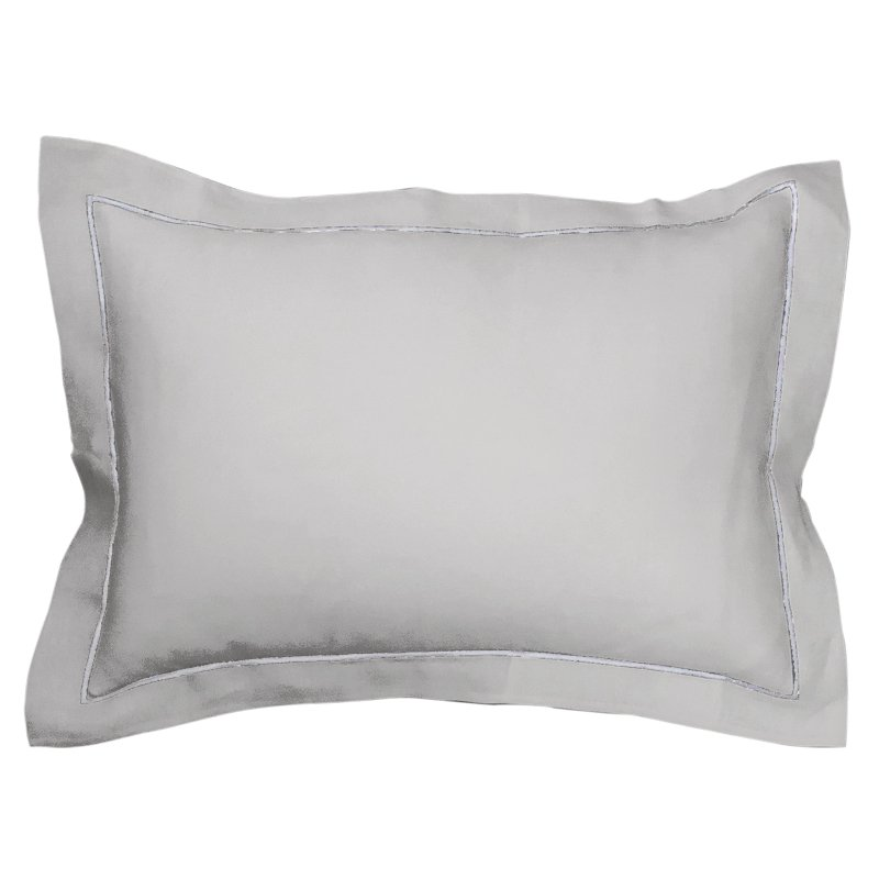 Pleats Pillowcase icegray