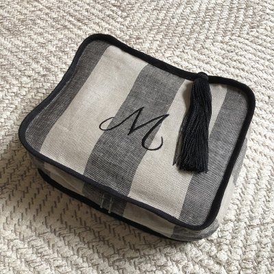 Limoges  Travel Pouch S - Natural x Black