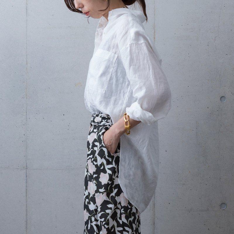 2020 Luce Linen Shirt - White