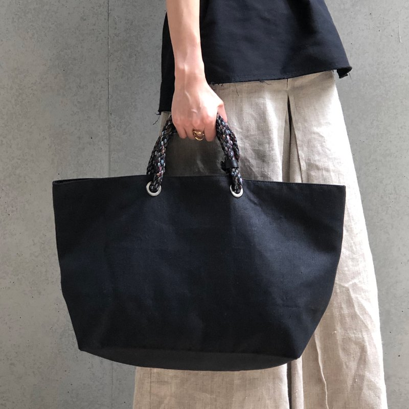 Sienna 2way Tote Bag black [予約受付け]