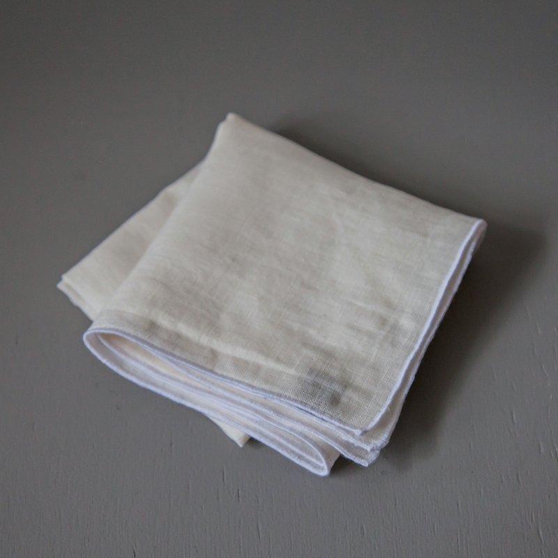 Sahara Handkerchief - White