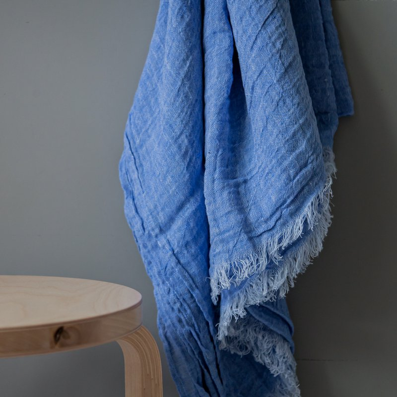 Neringa Throw Blue