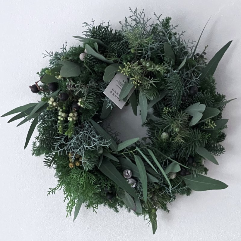 FRESH CHRISTMAS WREATH 2020