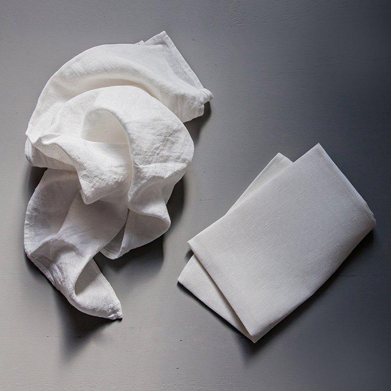 Utena Kitchen Towel Large - Milky White