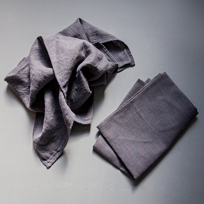 Utena Kitchen Towel Large - Anthracite