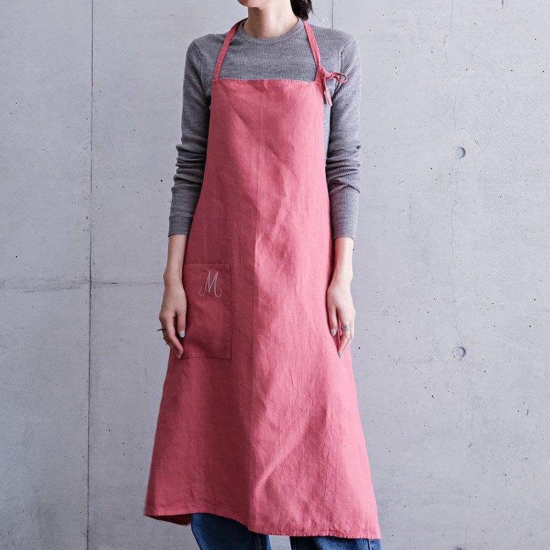 Antwerp Apron - Pink