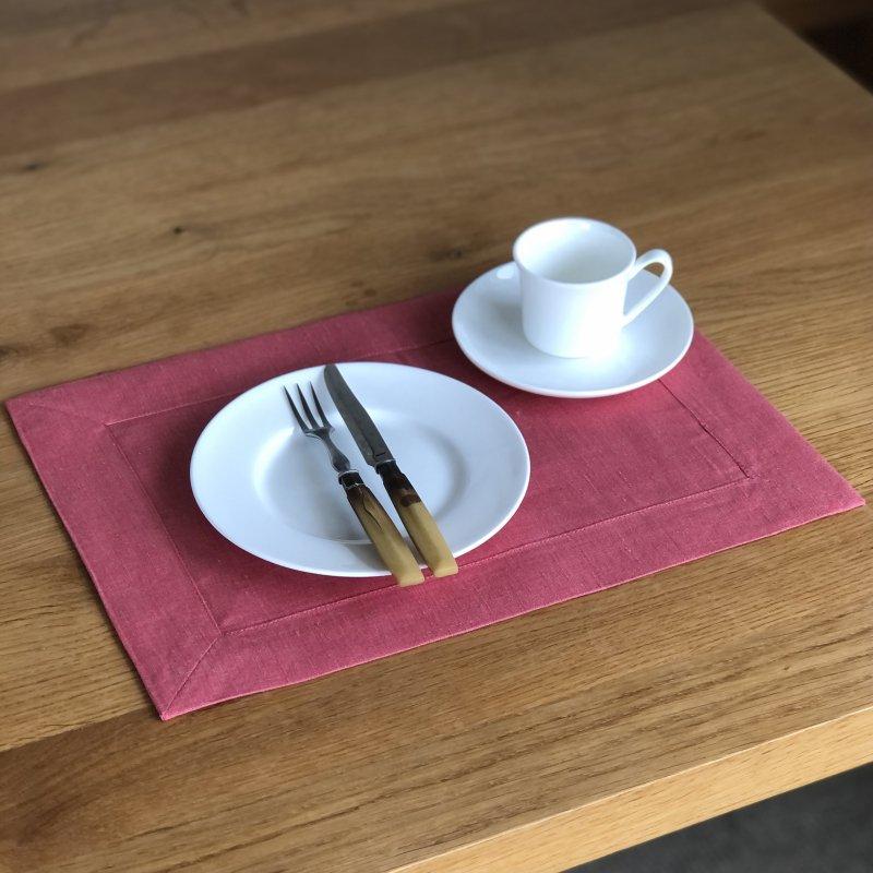 Santorini Tea Mat - pink