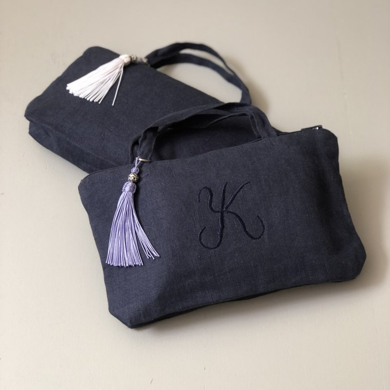 Lima Lounge Pouch Navy