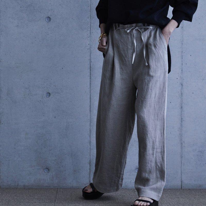 Mila Linen Pants - Natural