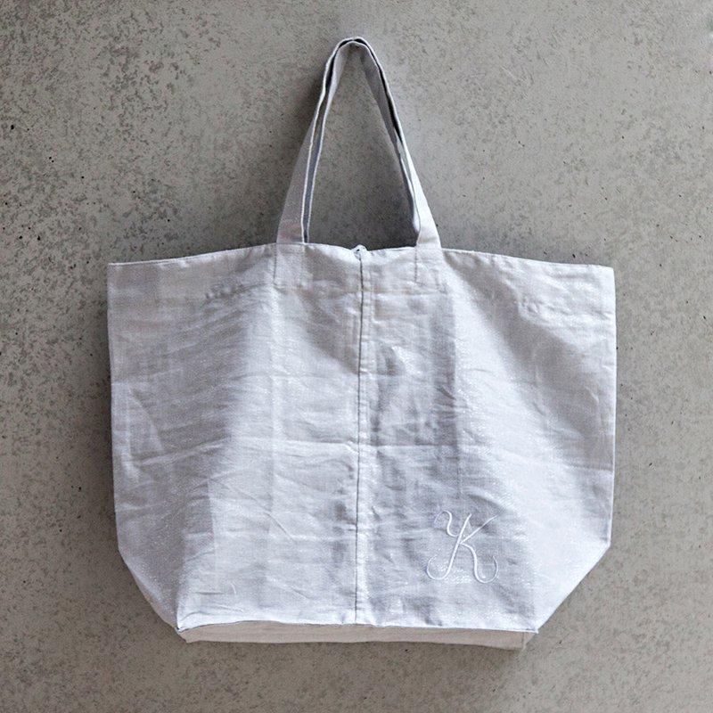 Stockholm Tote Bag - Ice Gray