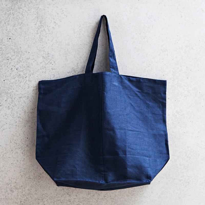 Lima Tote Bag - Navy