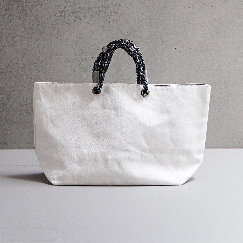 Siena 2 way Tote Bag - White
