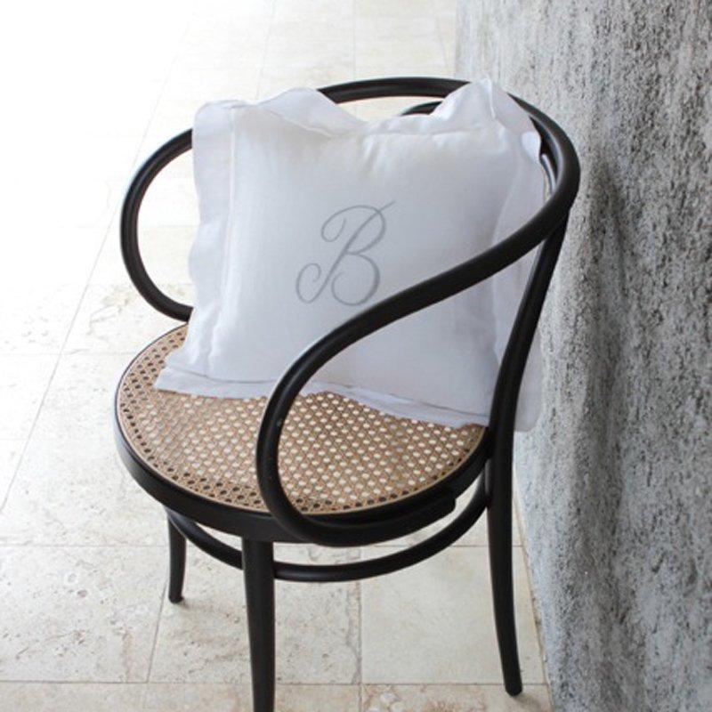 Bergamo Cushion Cover - White