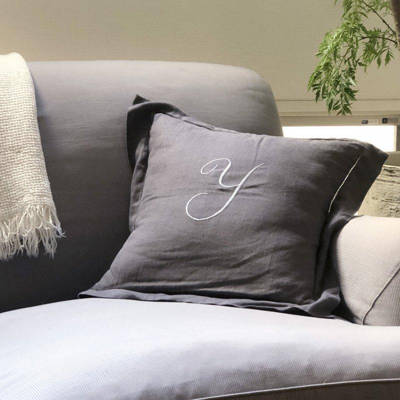 Bergamo Cushion Cover - Graphite