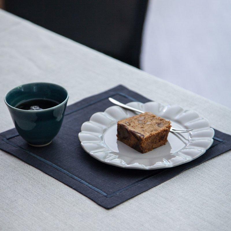 Santorini Cafe Mat - Graphite