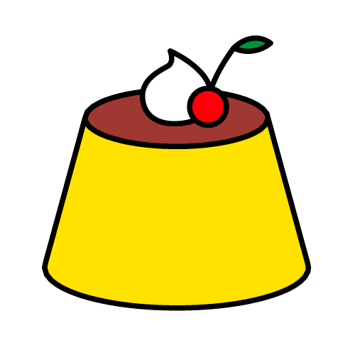 プリン/光沢シール