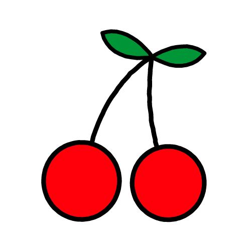 さくらんぼ/耐水シール