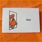 ポストカード/ドア