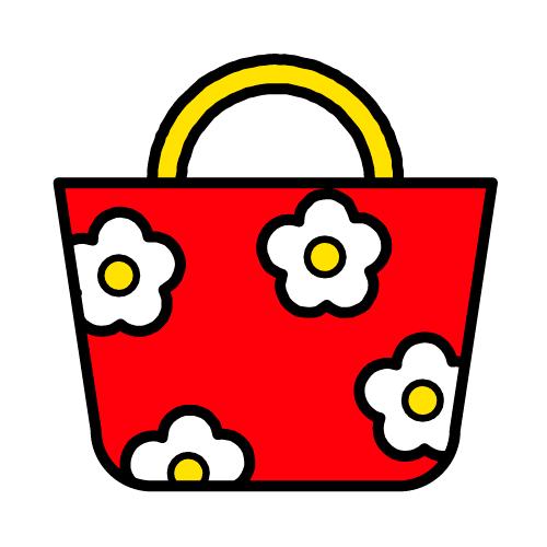 かばん/耐水シールセット(S・M・L・円)