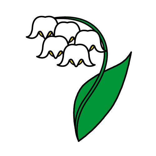 すずらん/耐水シールセット(S・M・L・円)