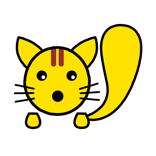 りす/耐水シールセット(S・M・L・円)