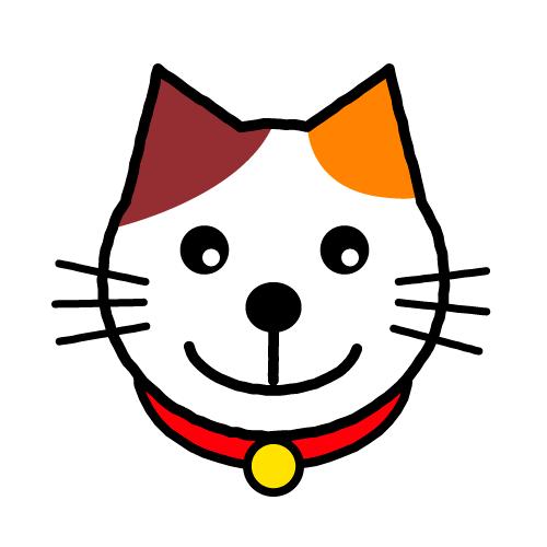 みけねこ/耐水シールセット(S・M・L・円)
