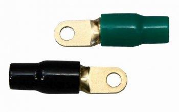 「銅音」無酸素銅金メッキ「4ゲージ6mm」 リングターミナル